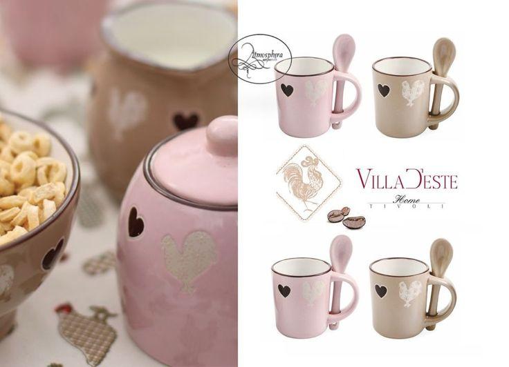 Villa D Este Ceramiche Tazzine Caffe