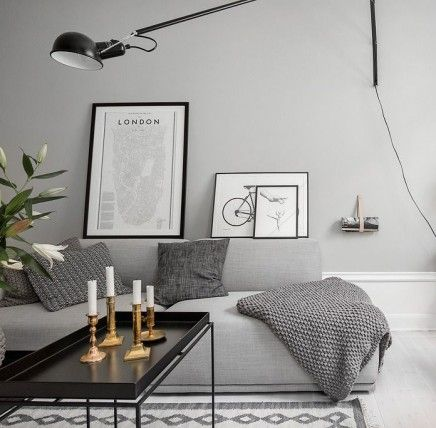 25 beste idee n over grijze verfkleuren op pinterest grijs interieur verf grijze verf en for Grijze muur