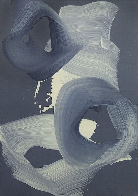 The abstract brushstrokes of Erin Lawlor