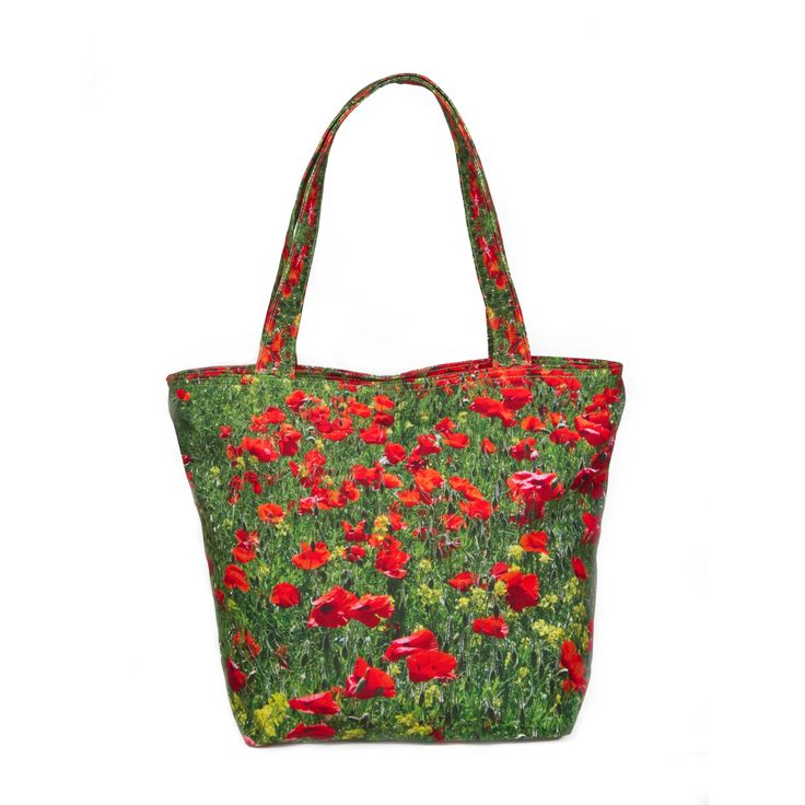 My 1001 Poppies in Chablis    This attractive pillow case features a field of green covered by an abundant display of poppies, spanning the field with a sea of red. Poppies hold extraordinary beauty for their graceful movements combined with their brilliancy of colours which shines as bright as ruby with the glow from the shining sun. Perfect to lighten up and bring cheer to any room, this pillow of red and green adds a nice floral touch to create a sense of warm and welcoming atmosphere.
