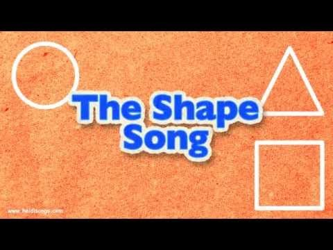 ▶ The Shapes Song | Little Songs for Language Arts - YouTube
