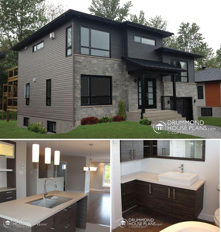 152 best modern house plans contemporary home designs images on pinterest modern house plans garage plans and modern houses. beautiful ideas. Home Design Ideas