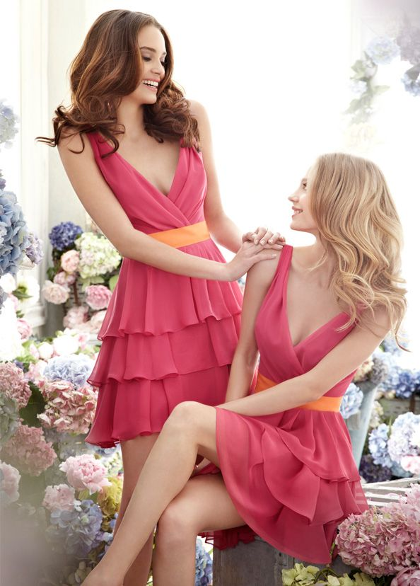 Jim Hjelm Occasions Bridesmaids and Special Occasion Dresses Style jh5253 by JLM Couture, Inc.: Dresses Bridesmaid, Bridesmaids, Ball Gowns, Dresses Style, Colors, Shorts Bridesmaid Dresses, Special Occa Dresses, Zippers, Chiffon Bridesmaid Dresses