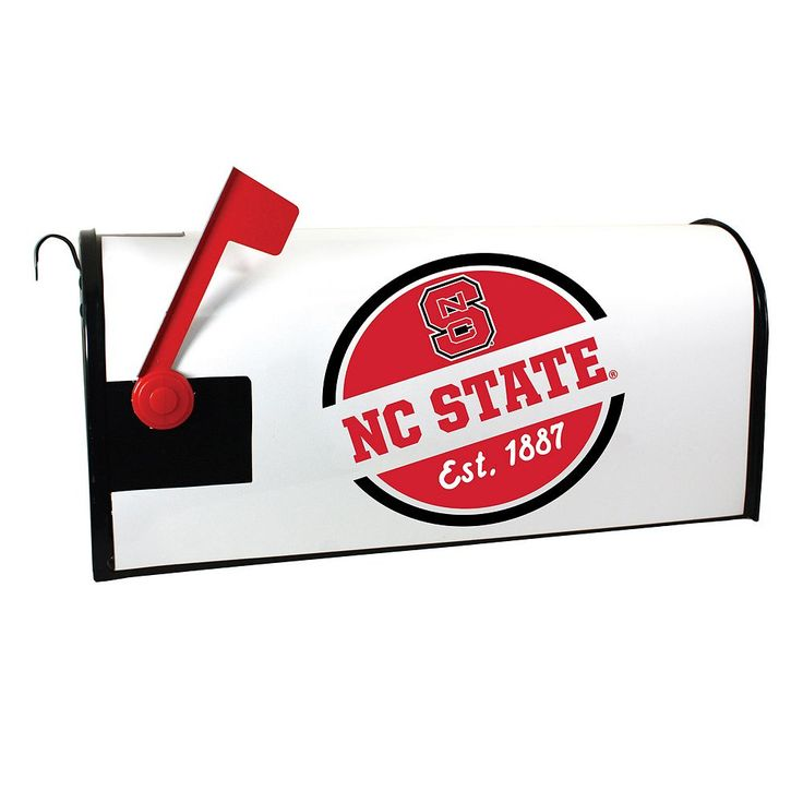 North Carolina State Wolfpack Magnetic Mailbox Cover, Multicolor