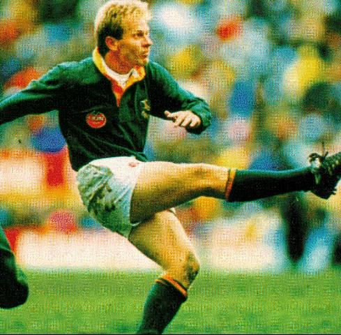 NaasBotha one of the all-time great Springbok kickers <3