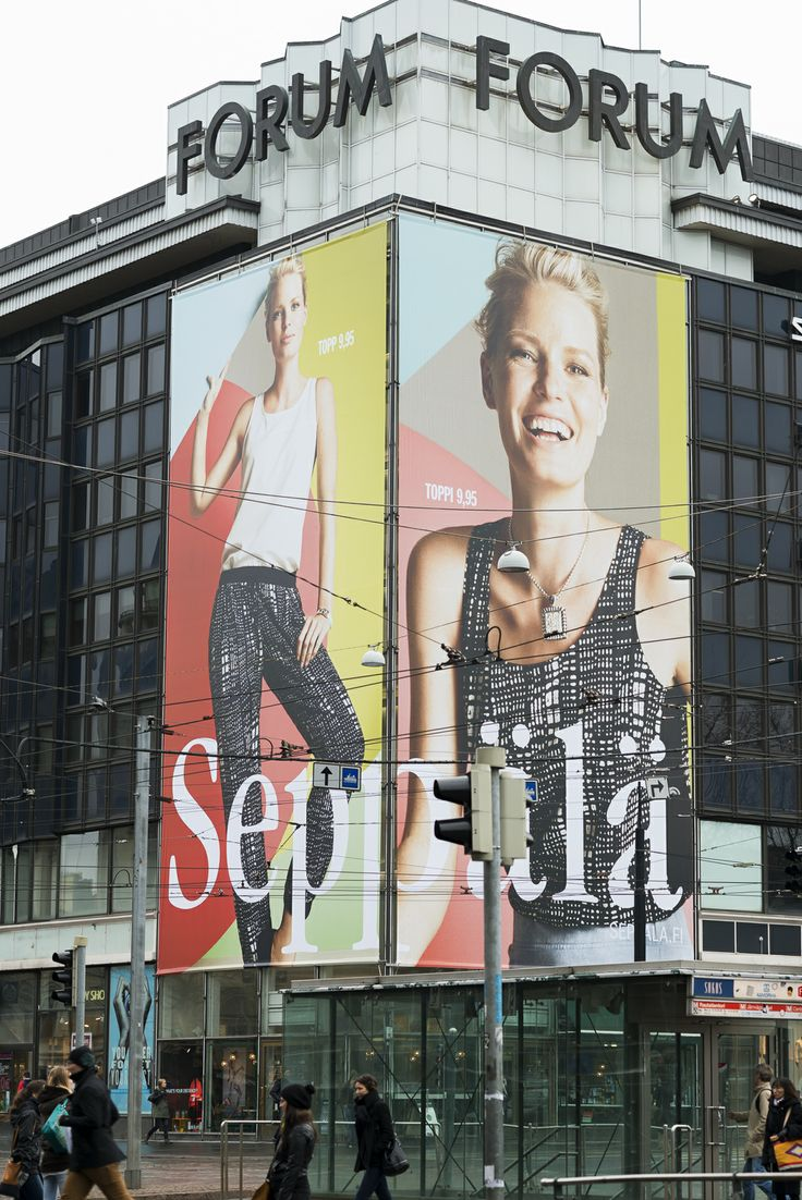 Fashionmania @ Forum corner, Helsinki