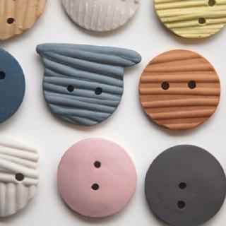 ¿Botones hechos de pasta? ¡Si! #manualidades #crafts
