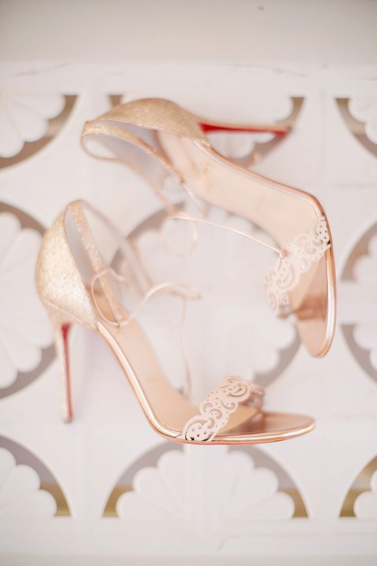 Shoes: Christian Louboutin | Photography: To Live. To Love. Photography | pretty #weddingshoes | fabmood.com
