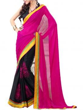 get amazing Designer Georgette Saris and be the center of attention