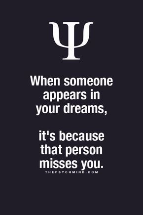 """thepsychmind: """" More Psychology facts here """" I wonder if this is true and if so, what about the people one dreams about that they havent even met?"""