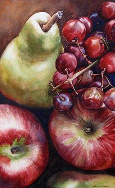 Kara Bigda. Watercolor- colouring -composition - tonal- the way it has taken up the whole page - natural