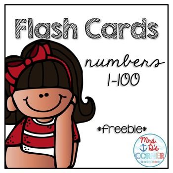 this set of free basic numbered flash cards is perfect for rote practice of numbers 1 100. Black Bedroom Furniture Sets. Home Design Ideas