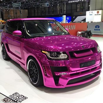 Pink Range Rover by Hamann - Fashion Central
