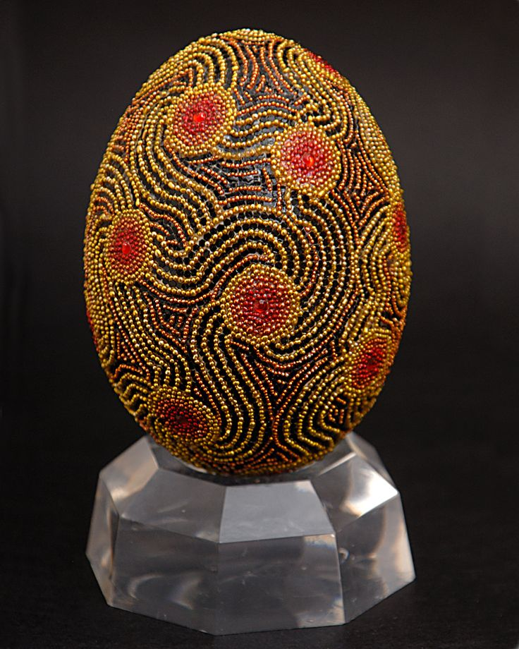 Eggs Decco by Grace, Beaded