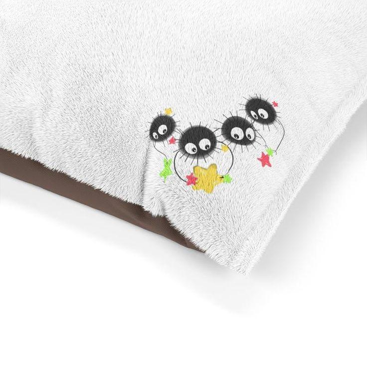 Susuwatari Soot Sprite Pet Bed Spirited Away Inspired Soot   Etsy – ✨ Selection Customers
