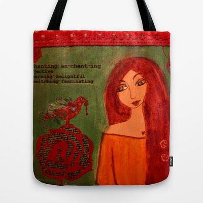 A PINK DREAMER: art bags love!!!!