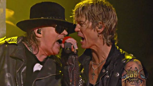 Guns N' Roses Featuring Duff Mckagan: Pro Shot Footage Of Revolver ...