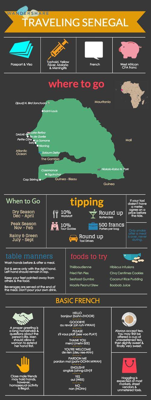 Senegal Travel Cheat Sheet; | PicadoTur - Consultoria em Viagens | Agencia de viagem | picadotur@gmail.com | (13) 98153-4577 | Temos whatsapp, facebook, skype, twitter.. e mais! Siga nos|