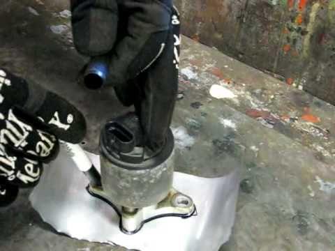 Exhaust Gas Recirculation Valve (EGR) Checking