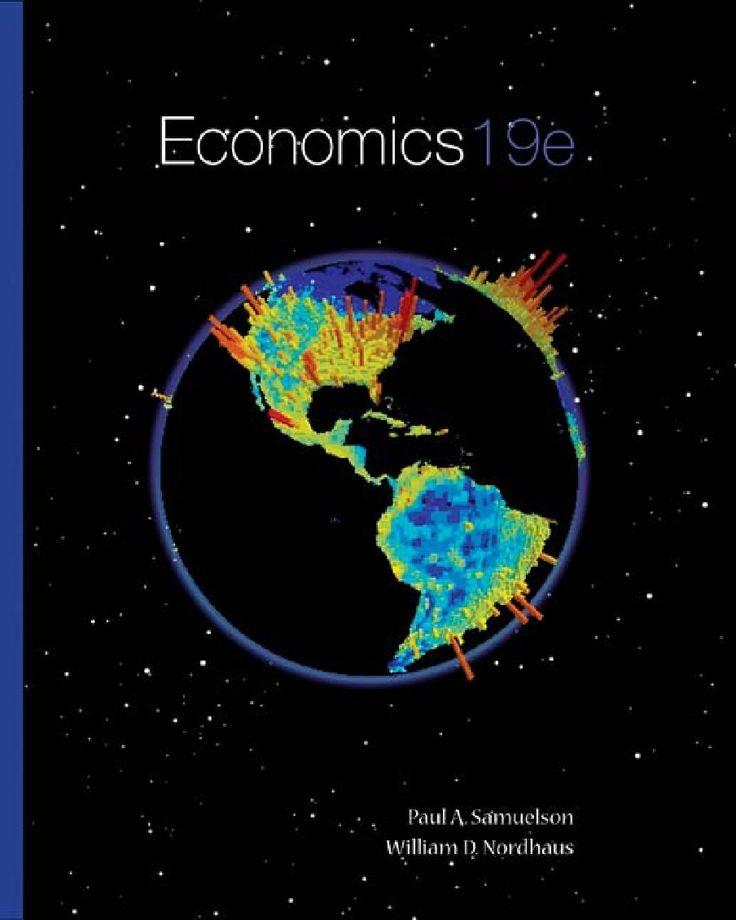 Economics 19e - Paul Samuelson, William Nordhaus