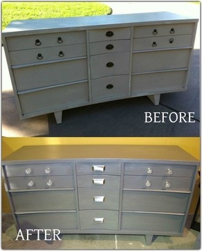 Upcycling - contemporary - dressers chests and bedroom armoires - wichita - Invio Fine Furniture Consignment