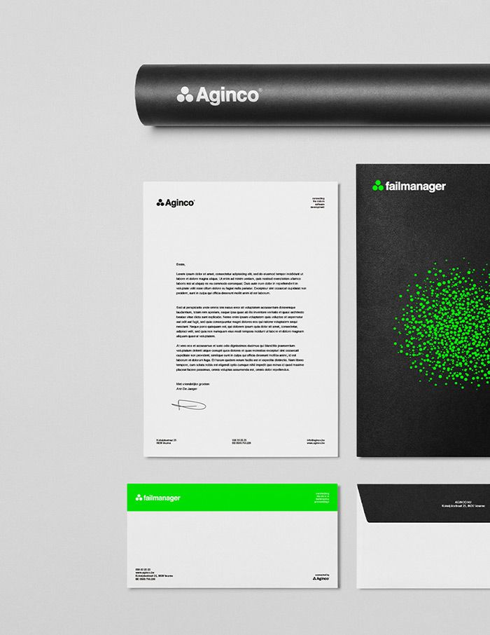 Aginco - Stationary   by Skinn Branding Agency