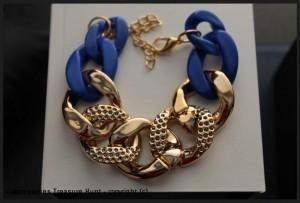 Chain Bracelet-Blue