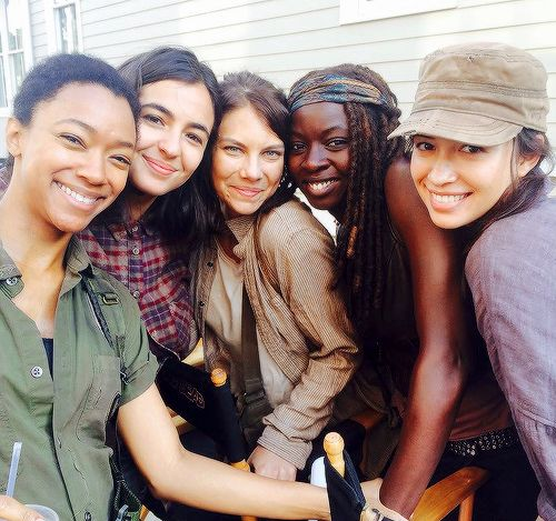 The Walking Dead girls ♡♡♡