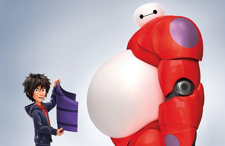 Big Hero 6 - Hiro och Baymax.
