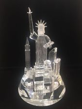 New Lead Crystal Statue Of Liberty Island