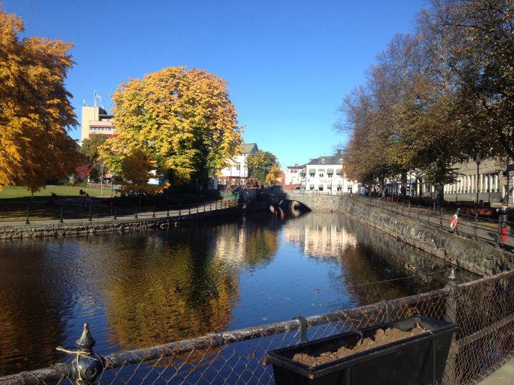 City centre of my hometown Västerås.