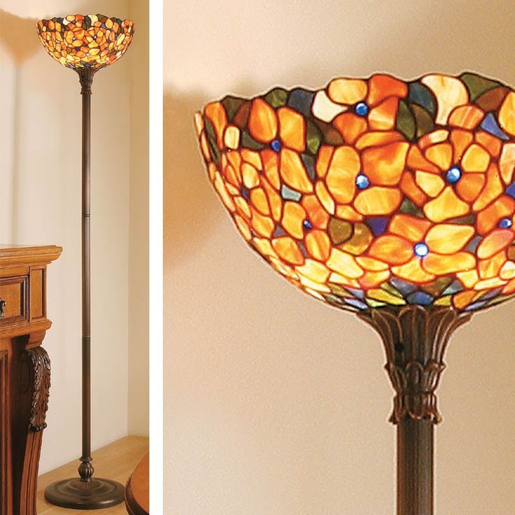 22 best Piantane / Lampada da Terra Tiffany images on Pinterest ...