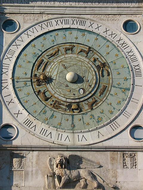 #Clock ~ Zodiac clock, Padua, Italy