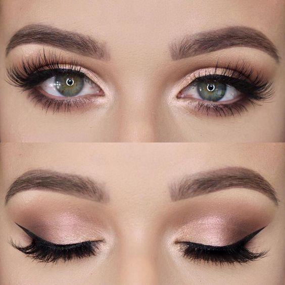 Makeup – Natalie Palermo – #augen # augenmakeupfürfänger #augenmakeup #aug