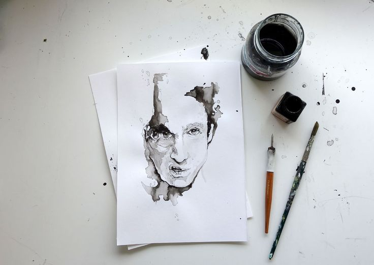 illustration process Sylvia Stølan