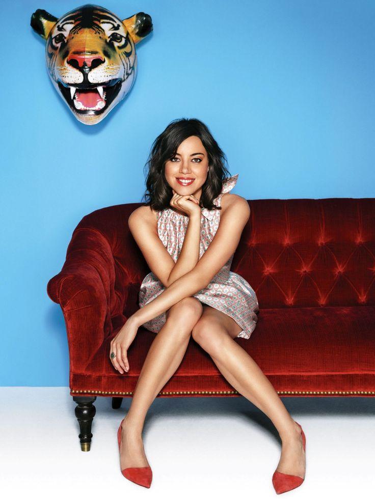 Aubrey Plaza - her skin care secrets at http://skincaretips.pro