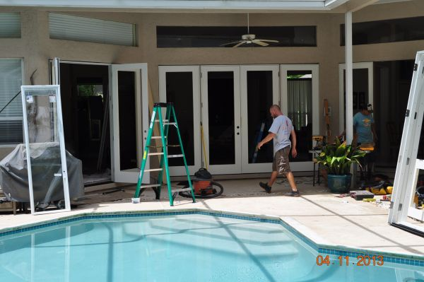 Replacing Sliding Glass Doors With French Doors And Patio