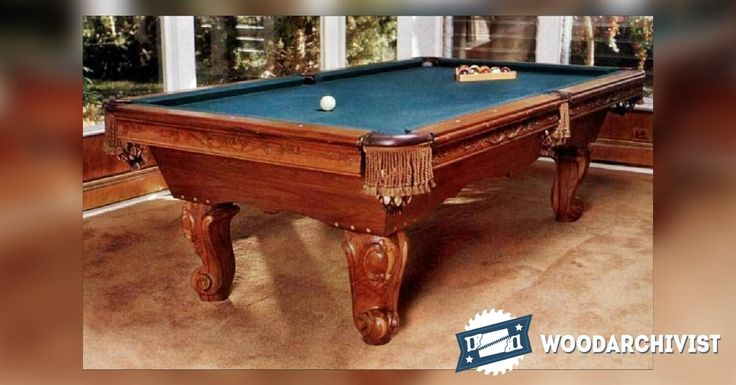 26 best pool tables images on pinterest pool tables for Pool table woodworking plans