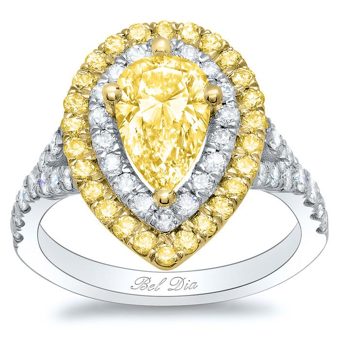 17+ images about Yellow Diamond Engagement Rings on Pinterest ...