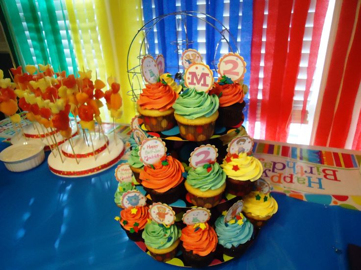 how to make daniel tiger cupcakes
