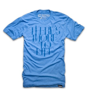 Ugmonk, a line of design-forward, made-in-the-USA, typography-centric t-shirts.: Life Blue, 24 00, T Shirt, Style, Accessories, Products, Mother Told