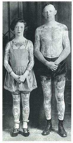 william grimshaw, a 40's tattoo artist