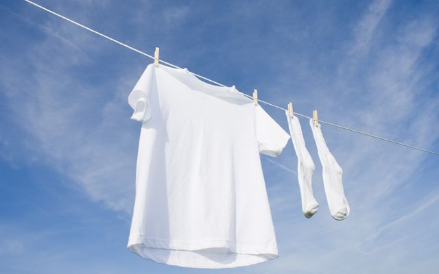 Zweetvlekken witte kleren