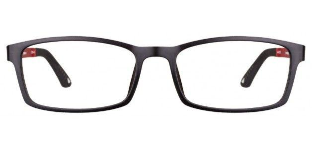 Vincent Chase VC 90193 Black Red Black C09-4 Eyeglasses