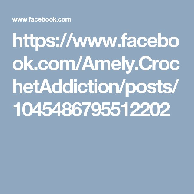 https://www.facebook.com/Amely.CrochetAddiction/posts/1045486795512202