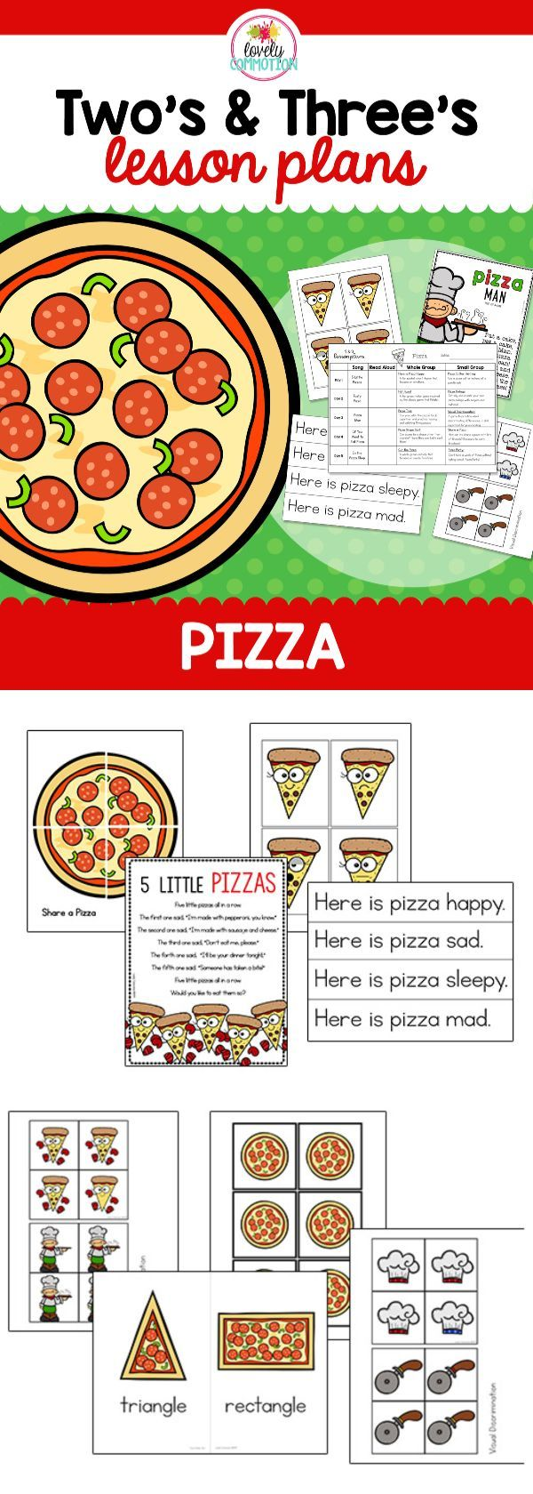 Two And Three S Pizza Lesson Plans Math Lesson Plans Lesson Plans Preschool Lesson Plans [ 1680 x 600 Pixel ]