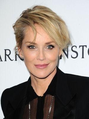 Sharon Stone : Look beauté de star - Journal des Femmes