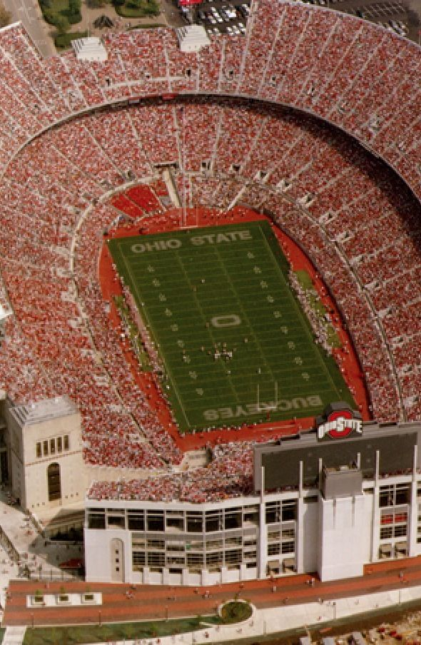 WHAT A BEAUTIFUL SIGHT - GO BUCKS!Was in that stadium on a very hot Thursday afternoon  in September 2010 after The Ohio Farm Science Review.Would like to a  Michigan-Ohio State football game there someday