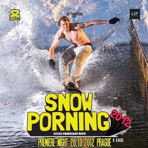 We're so pumped about our new Snowporning snowboard movie.