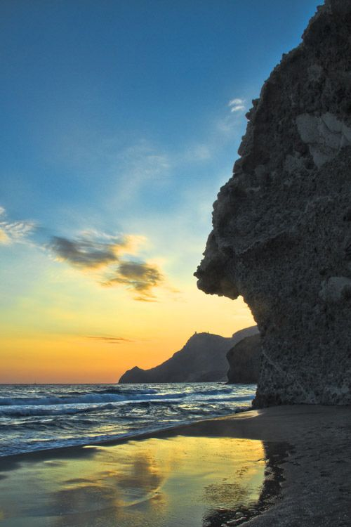 Playa Monsul Almería